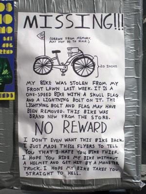 missing-bike